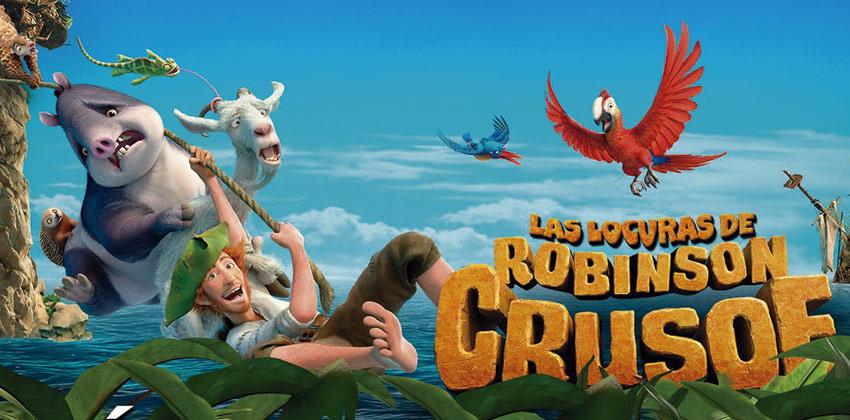 Cine de Verano en Distrito Cerro Amate: Robinson, una aventura tropical 00   Sevilla con los peques