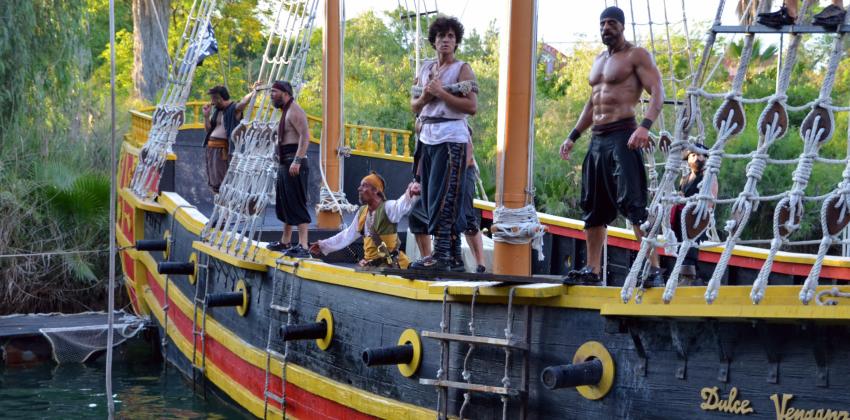 Espectáculos en Isla Mágica Sevilla para esta temporada Barceo pirata | Sevilla con los peques