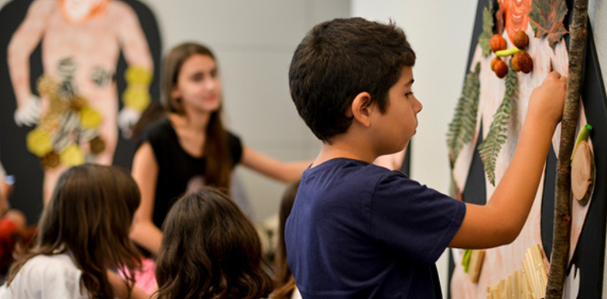 Personajes a escena, un taller de teatro en CaixaForum 00   Sevilla con los peques