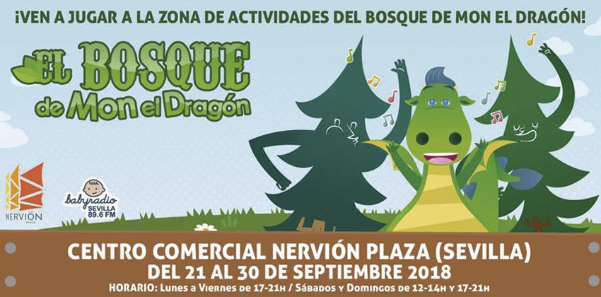 Babyradio: el Bosque de Mon en Nervión Plaza 01 |Sevilla con los peques